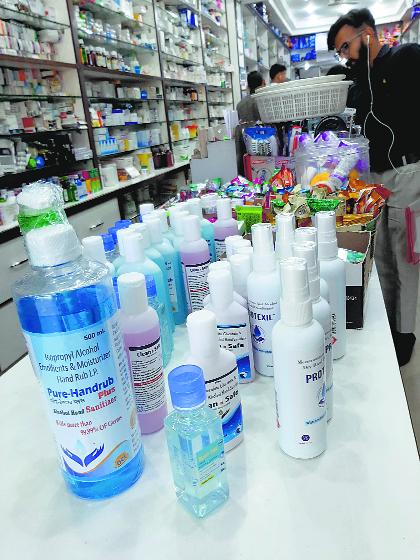 Punjab's Drug body warns against use of 10 sanitiser brands
