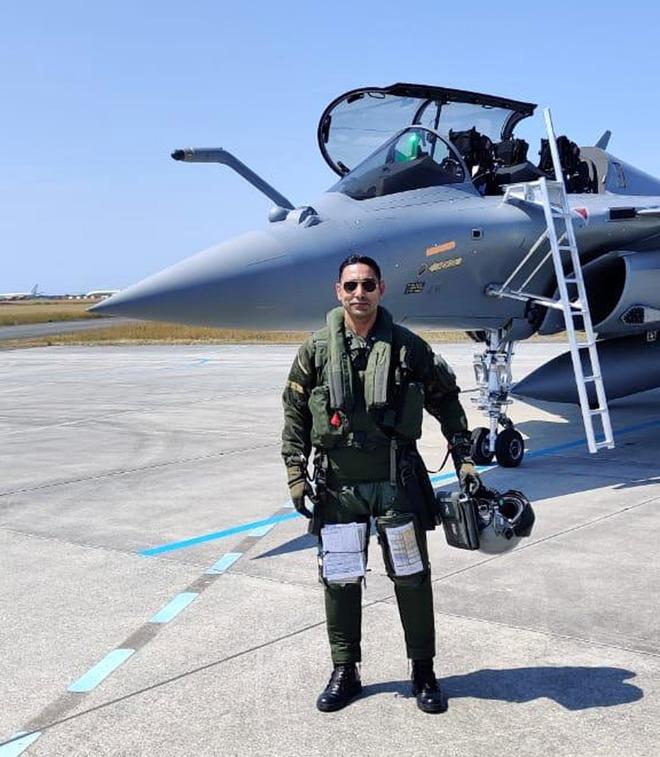 Locals on cloud nine as Muktsar pilot flies Rafale home