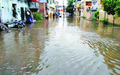 Rain leaves Patiala roads inundated