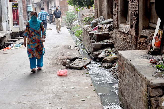 Overflowing sewage continues to pose health hazard to residents