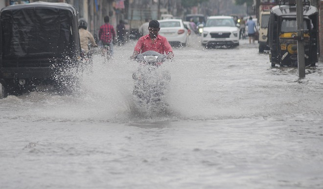 71-mm rainfall washes away tall claims of MC's preparedness for monsoon