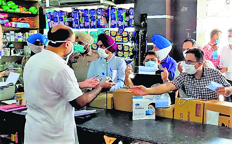 Don't let your guard down, SDM tells medical stores post checking