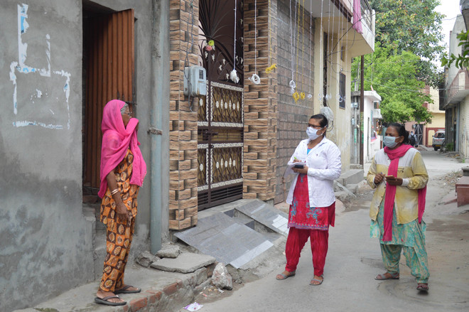 Sans smartphones, uploading data an uphill task for health workers
