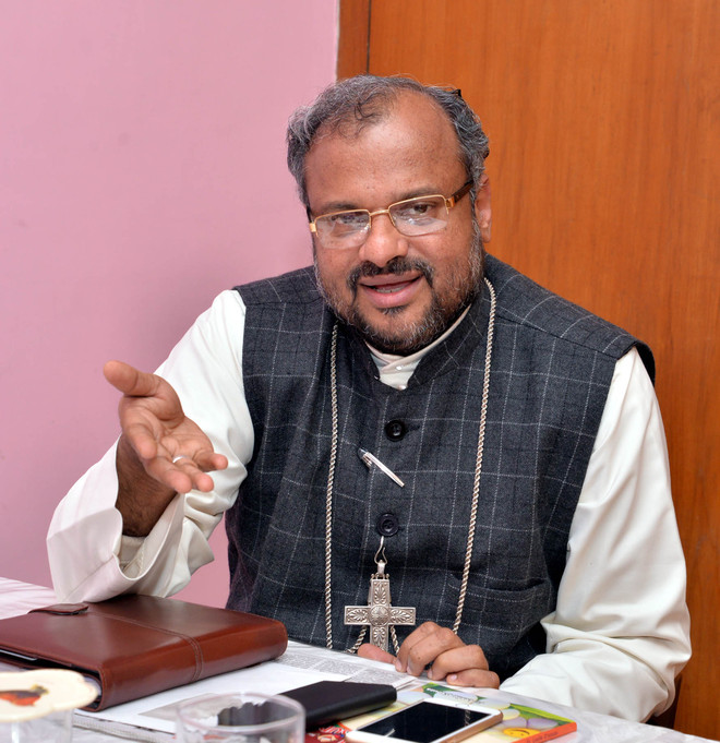 Bishop Franco Mulakkal of Jalandhar Diocese contracts infection