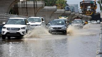 Waterlogging haunts residents