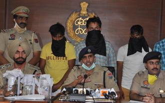Mohali PNB robbery cracked, 3 arrested