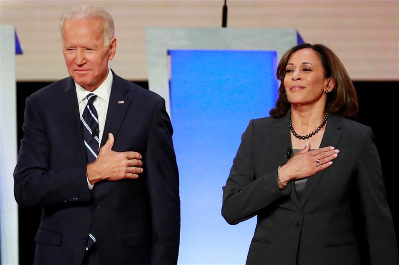 Joe Biden Names Indian American Senator Kamala Harris As Running Mate