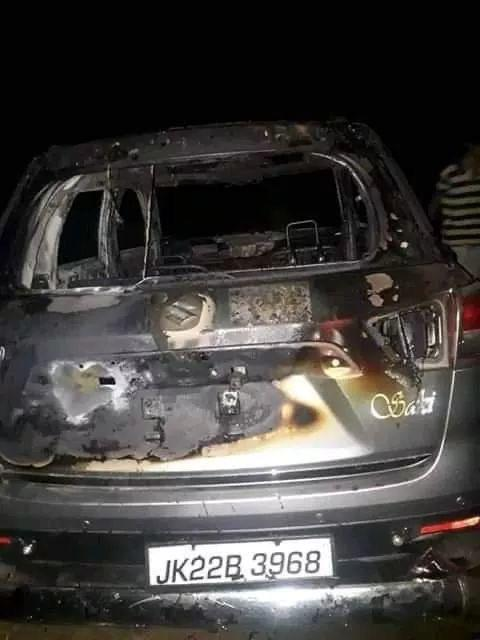 Off-duty soldier kidnapped in Kashmir, car burnt