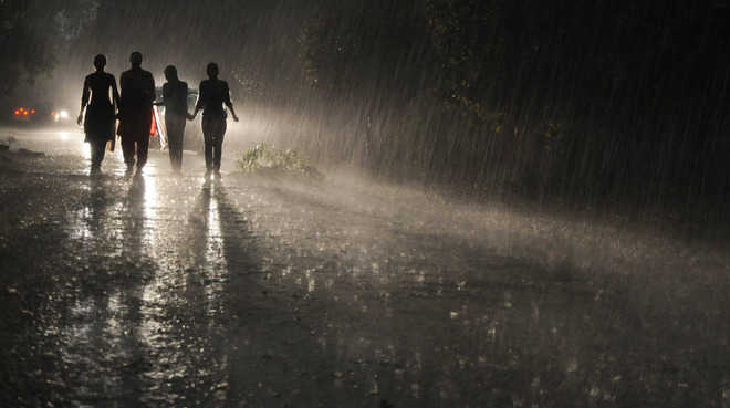 Fresh spell of rain brings relief from sultry conditions in Delhi