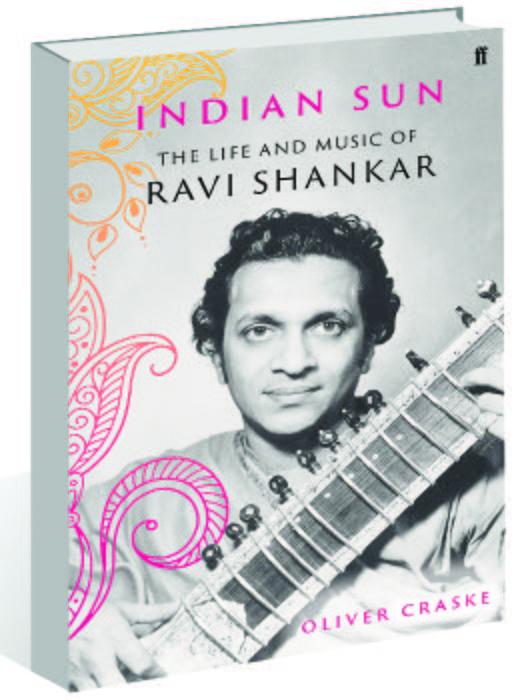 Oliver Craske pens Indian Sun — The Life and Music of Ravi Shankar