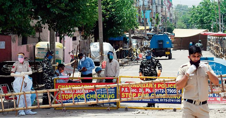 Chandigarh declares blocks of Sector 40, Sector 46 as containment zones