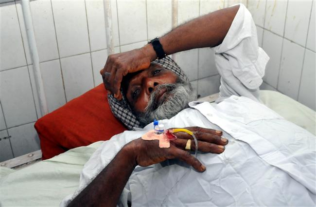 Punjab hooch tragedy survivors troubled by low vision, uneasiness