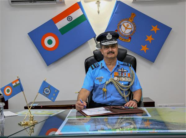 Air Marshal V R Chaudhari takes over as chief of IAF's Western Air Command
