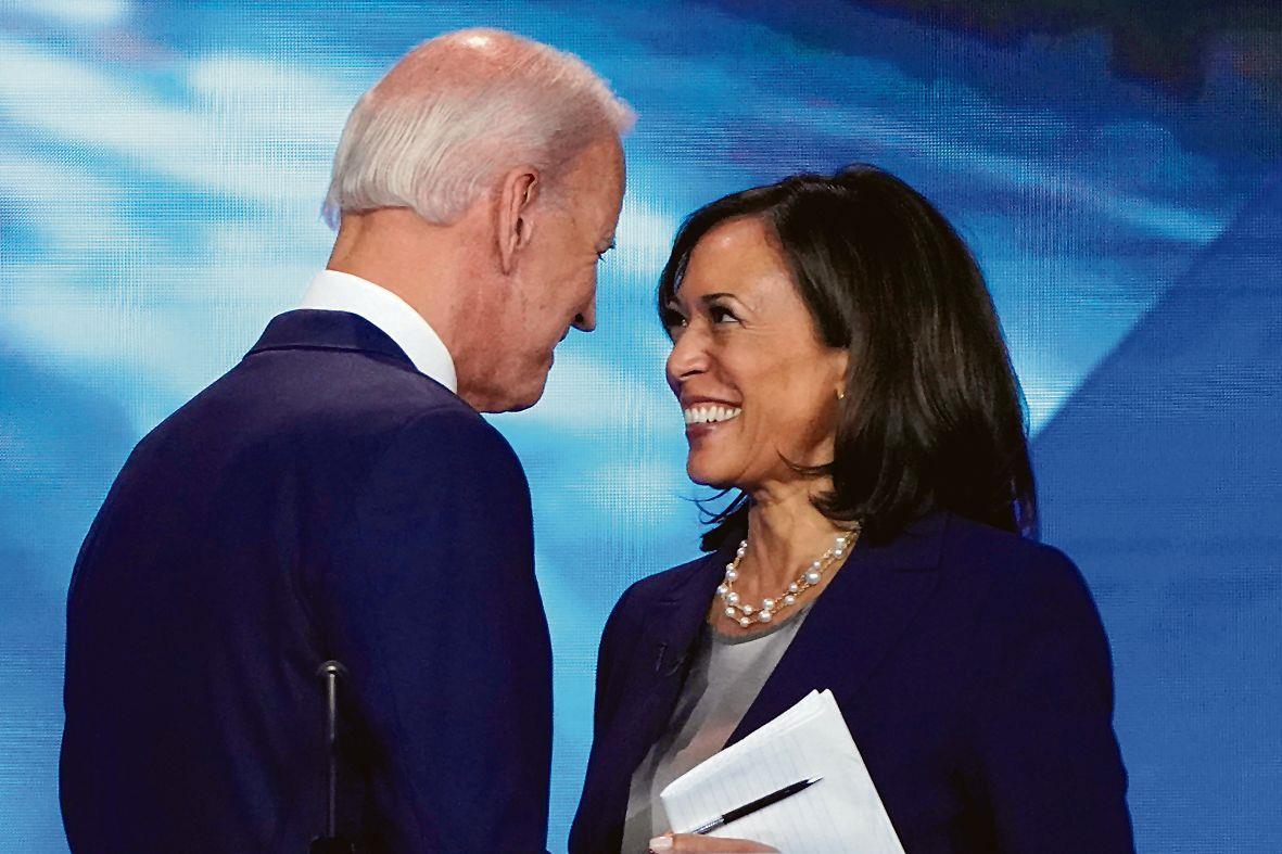 Desi flavour to US election, Kamala picked as Joe Biden's running mate