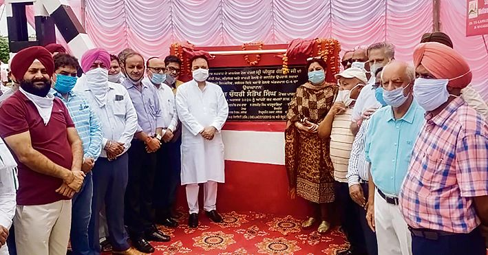 MP Santokh Singh Chaudhary opens rail underpass in Jalandhar