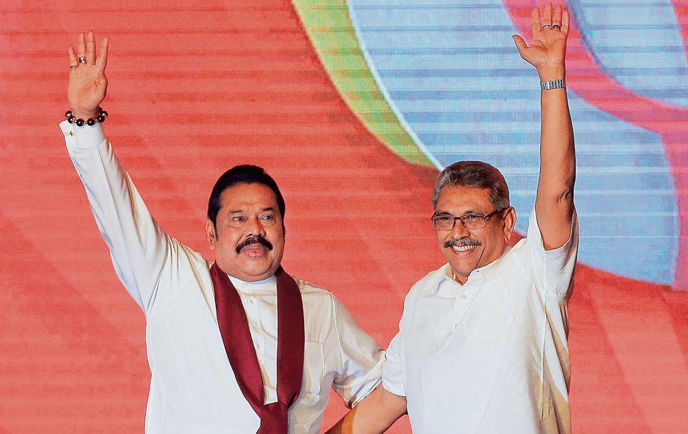 Rajapaksas do it again