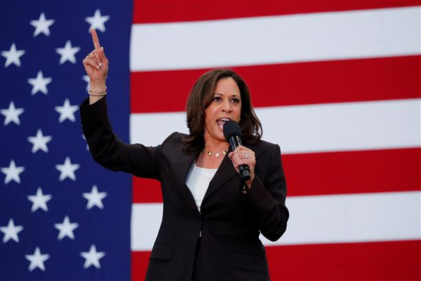 Leadership starts the day you are born, Kamala Harris tells South Asian women