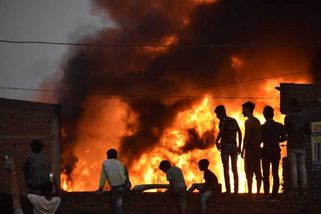 Five killed in boiler blast at factory in Nagpur district