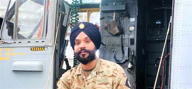Sikh soldier on British Army homepage warms the hearts of Kolkata Sikhs