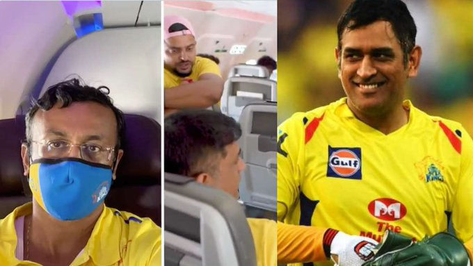 'Your legs are too long': MS Dhoni gives up business class seat for economy class passenger; wins hearts - The Tribune India