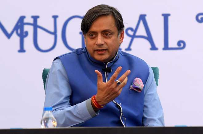 'Omission of 8 crore people in Ayodhya speech worrying after CAA, NRC', Tharoor takes a dig at Modi