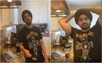 'Ae mera dimaag khaagi dekh': Diljit Dosanjh's 'clash' with Alexa leaves everyone in splits