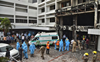 10 die in fire at COVID-19 facility in Andhra Pradesh's Vijayawada