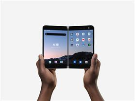 Microsoft back in smartphone business with dual-screen device