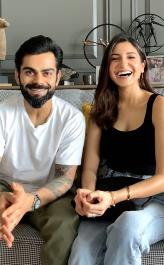 'Take a break': Anushka Sharma and Virat Kohli are power couple in new Instagram competition