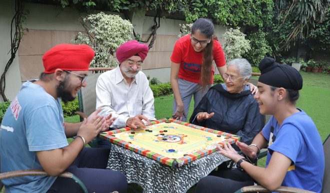 Life turns dull for golden agers as curbs tarnish their rustic routine
