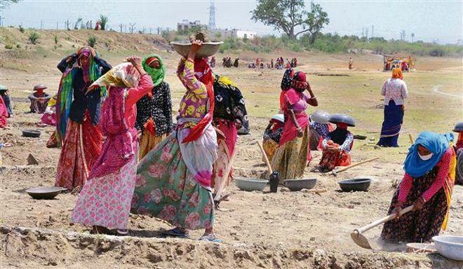 MGNREGA workers to build schools in villages