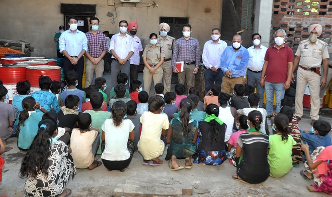47 child labourers rescued