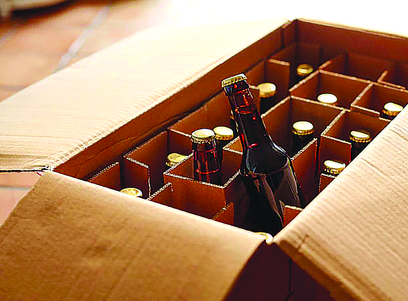 Two arrested for smuggling liquor