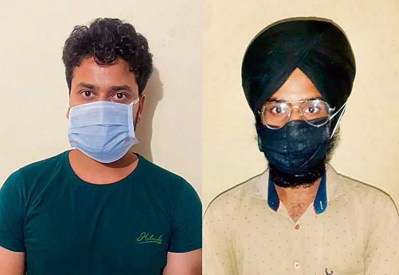 Two arrested for rumour-mongering