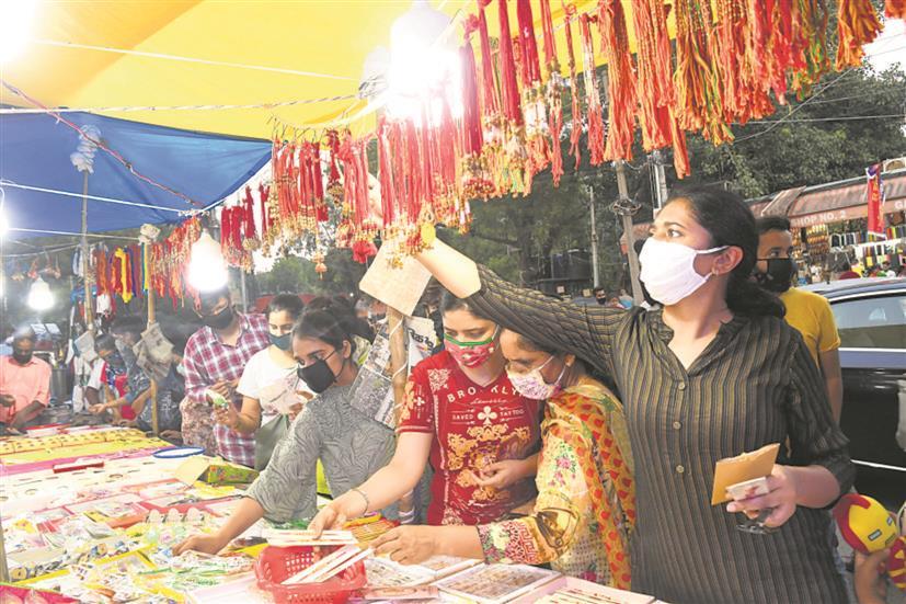 Contagion dampens Rakhi celebrations in Chandigarh