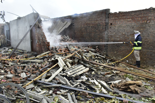 Blast at firecracker factory in Amritsar, no loss of life reported