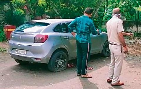 Cop shoots himself at MLA Hostel parking