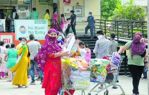 Pandemic effect: Online shopping takes the sheen off markets