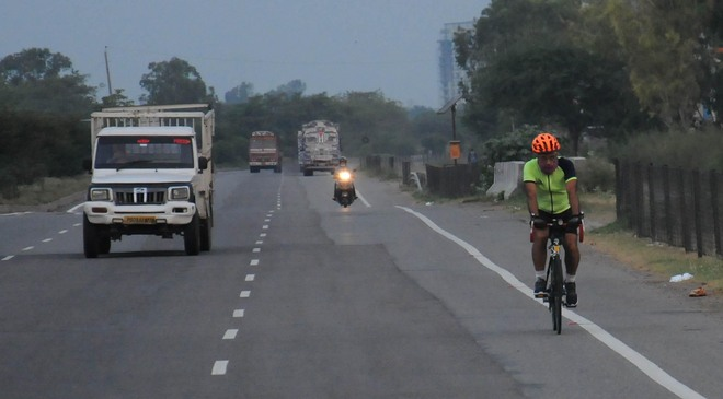 Cyclists fume as traffic police tell them to stay off highways