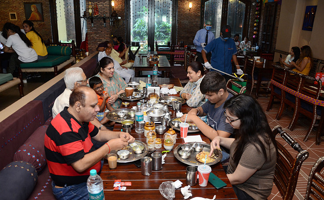 Usual buzz missing, highway eateries getting reasonable footfall in Jalandhar