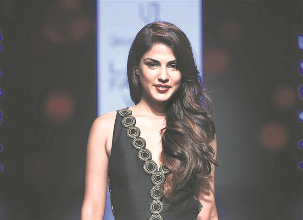 Rhea booked under PMLA in Sushant case