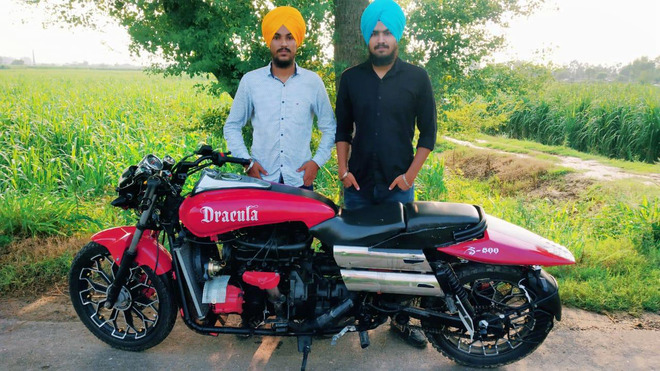 BTech students turn their dream of owning a luxury bike into reality