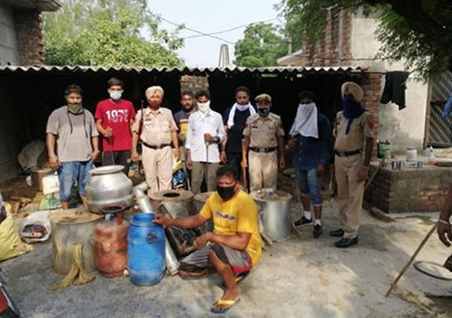 'Op Red Rose': 1,432-ltr illicit liquor recovered in 10 days