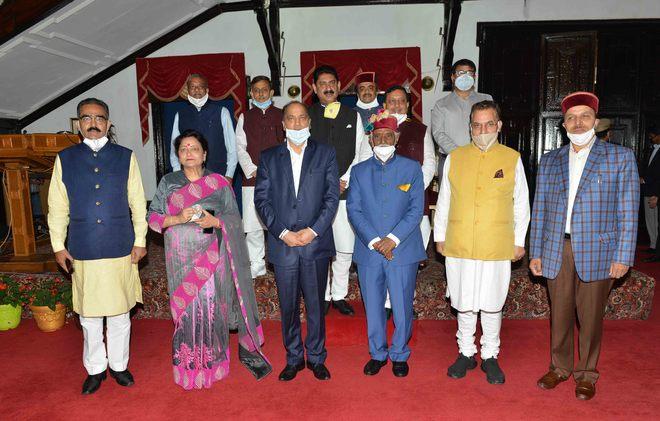 Himachal CM rejigs portfolios, rewards loyalists