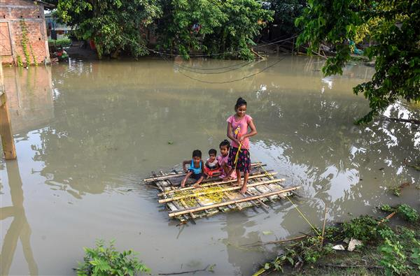 2.25 lakh people affected by fresh floods in Assam