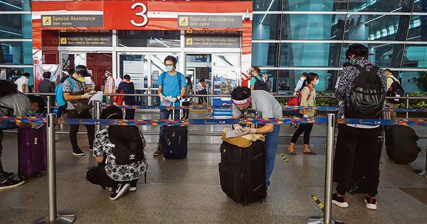 Domestic flights at T2 to resume from Oct 1