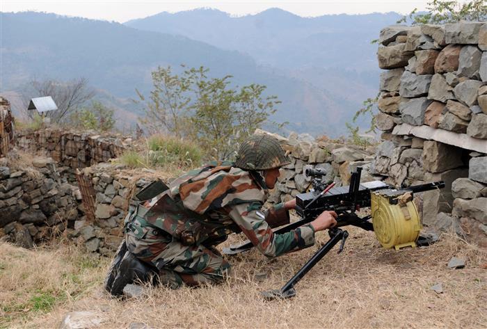 Pakistan shells forward areas along LoC in J-K's Poonch