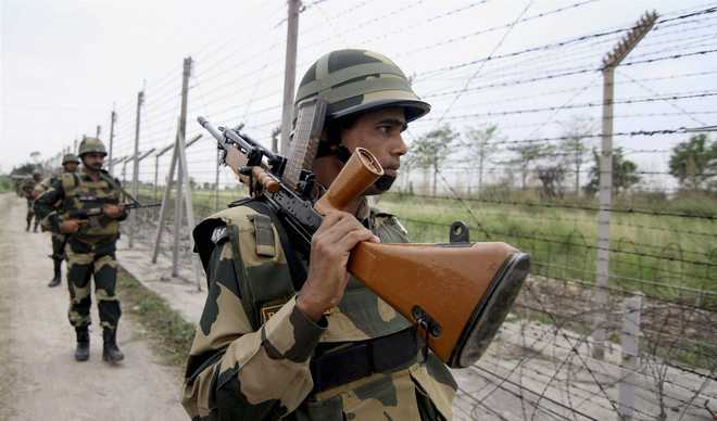 BSF foils infiltration bid of five heavily-armed militants in Samba