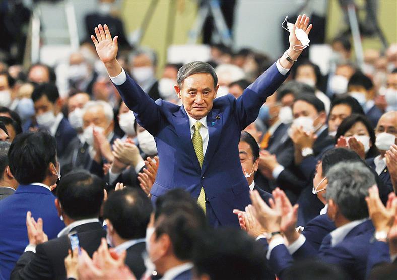 Suga set to replace Abe as PM