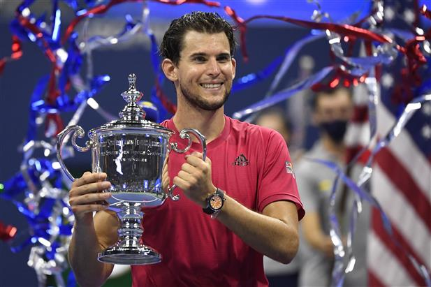 Austria's Dominic Thiem claims US Open title after thrilling fightback